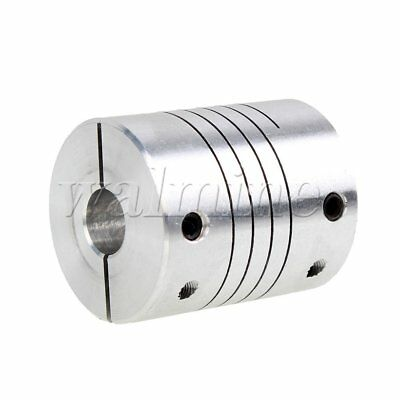 D25L30 Flexible Shaft Motor Encoder Coupling 8mm to 12mm CNC Stepper Coupler