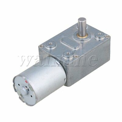 5RPM Low Speed 2.5G.CM DC 12V Motor High Torque Turbo Worm 370 Geared Motor