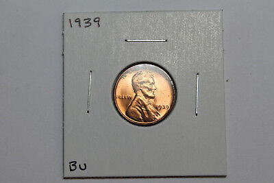 1939 BU Lincoln wheat cent