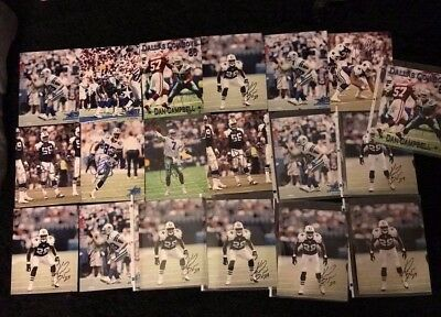 Lot of Dallas Cowboys autographed photos from the 2000s