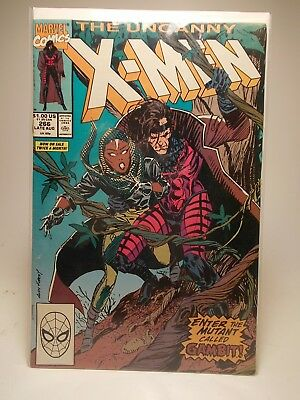 The Uncanny X-Men #266 1st Appearance Of Gambit!! - Marvel Comics