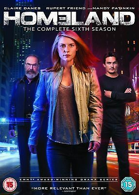 HOMELAND: Season 6 * Brand New and Sealed * Region 2 UK * Bubble-wrapped Postage