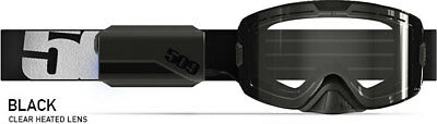 509 Ignite Snowmobile Goggles Kingpin Black Clear Night Lens 509-Kingog-18-Bki