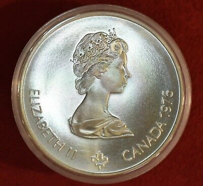 1976 Canada SILVER $5 5 Dollars Coin XXI Olympic MONTREAL! *****SEE OUR STORE!