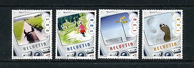 SWITZERLAND   MNH    1217-20   Cell Phone Pictures       EE913