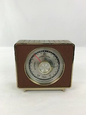 Vintage Taylor Weather Forecast Compensated Temperature Barometer Rochester NY