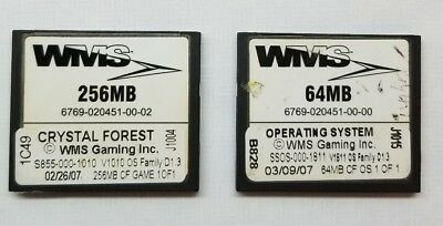 WMS Bluebird CRYSTAL FOREST Software and D1.3 OS USED