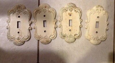 Vintage Sexton Single Light Switch Plate Covers Lot Of Four