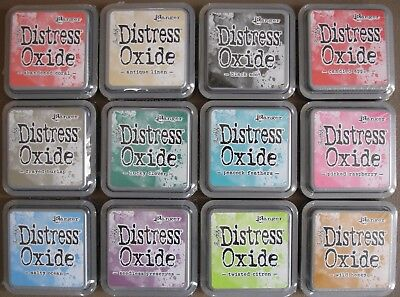 (You Choose) Tim Holtz ~ Distress OXIDE Ink Pads ~ 12 Colours to choose LOT #2