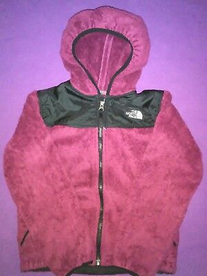 The North Face full zip hoodie jacket size M girls