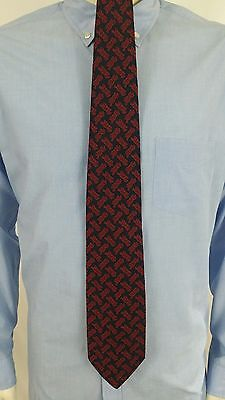 "VINTAGE CLASSIC PEPSI COLA MENS TIE NECKTIE NAVY WITH RED 4""x 58"