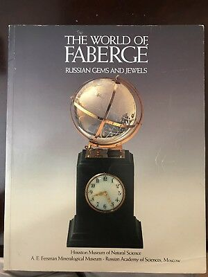 The World Of Faberge' Russian Gems And Jewels Book