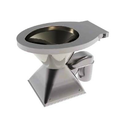 Zurn Pedestal Toilet Pan P Trap WELS RATING 3 *