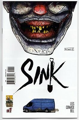 Sink #1 Nm Alex Cormack Cover A Comixtribe!