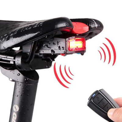4 In 1 Cycling Bicycle Security Lock Wireless Alarm Anti-theft Remote Control