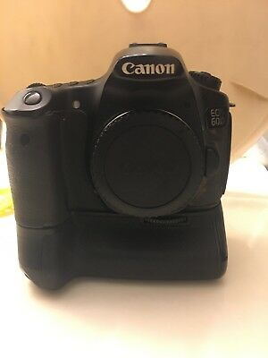 Canon EOS 60D 18.0MP Digital SLR Camera - Black (Body Only) Battery Grip