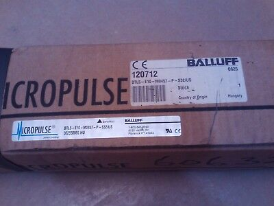 Balluff Btl5-E10-M0457-P-S32 Micropulse Linear Transducer New Nib