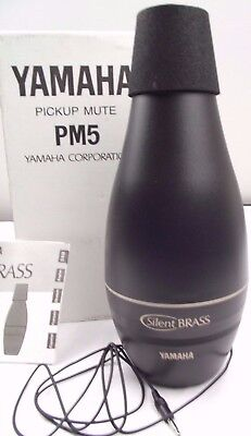 Yamaha Silent Brass Mute PM5 for trombone - Mute Module only -Boxed+ instruction
