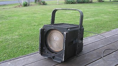 Vintage Retro Industrial Look Strand Theater Light