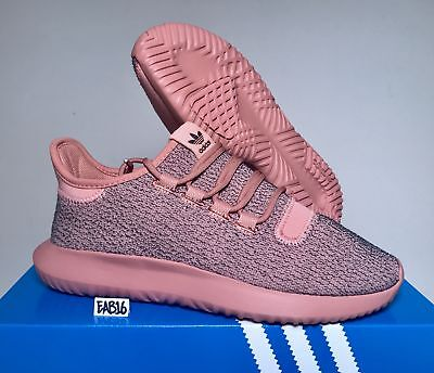 outlet store 7baee cc8d2 ADIDAS ORIGINALS W Tubular Shadow Knit Raw Pink BY9740 Tactile Rose Womens  Size