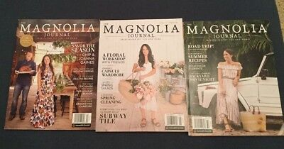 Magnolia Journal Issues 1, 2 and 3
