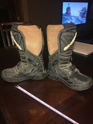 O'Neal Elements MOTOCROSS RACING BOOTS ONeal MX Youth Kids Black/Tan Size 1