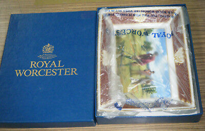 Boxed Royal Worcester Golfing Collection Tray