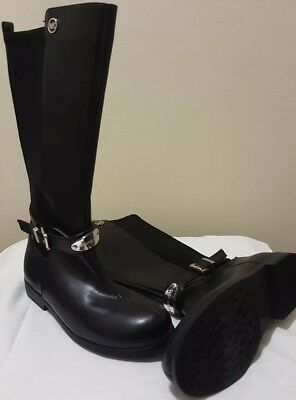 Girls Black Michael Kors Boots size 2