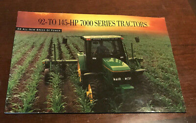 John Deere 92 to 145 HP 7000 Series Tractor Brochure