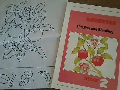 Hobbytex -Stunning apple and flower tree with shading and blending instructions
