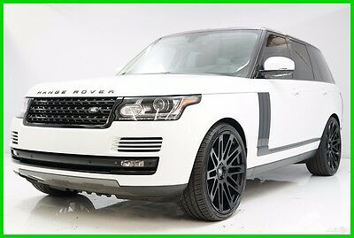 2013 Land Rover Range Rover HSE 2013 HSE Used 5L V8 32V Automatic 4WD SUV Premium