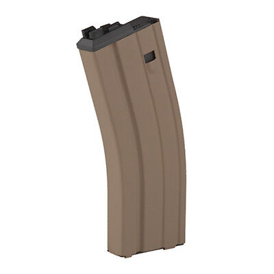 WE Airsoft M4 Green Gas/Propane Magazine - OPEN BOLT SYSTEM (Version 2) - TAN