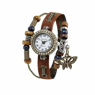 Unisex Hippie Chic Boho White Face Watch   Rrp £15