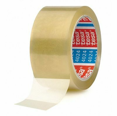 ( eur. 0,02 / m-eur 0,04/M) Tesa Tape Packing 4024 50 mm x 66 M Transparent