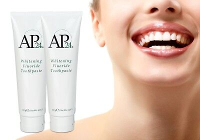 1/2/3/5/10 AUTHENTIC Nu Skin AP-24 NuSkin Whitening Fluoride Toothpaste 110g 4oz