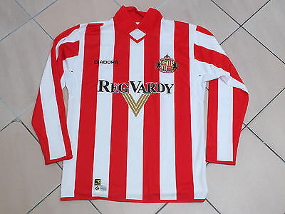 ! Maillot foot ancien vintage old shirt jersey SUNDERLAND Taille M !