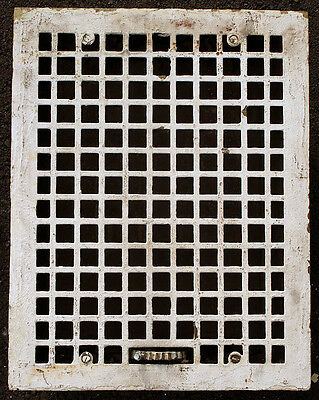 "4avail 14""x18"" Antique Vintage Brass Wall Floor Vent Register Grille Cover Grate"
