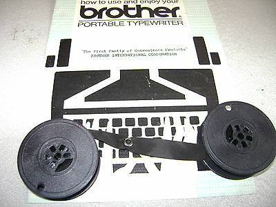 Typewriter ribbons for Brother and Lemair typewriter. free post or fitted free.