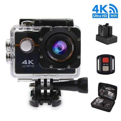 Waterproof 4K SJ9000 HD 1080P Camcorder Helmet Sports Action Camera 2Battery+Bag