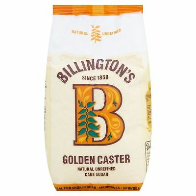 Billington's Golden Caster Refined Cane Sugar 1000g