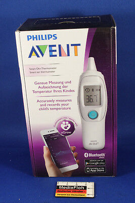 Philips Avent Smart Ohr- Thermometer Digital Android Bluetooth OVP Neu/New