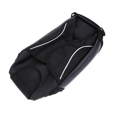 Black Magnetic Motorcycle Motorbike Oil Fuel Tank Waterproof Bag Travel Luggages