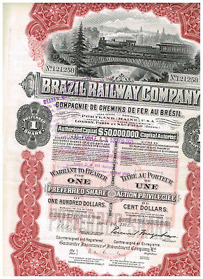 Brazil Railway Co., 1913