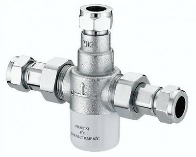 15mm TMV3 Thermostatic Mixing Valve
