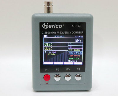 SURECOM SF-103 Frequency Counter 2MHz-2.8GHz for DMR Radio CTCCSS/DCS Decorder