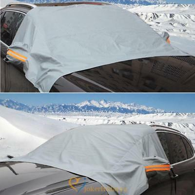 Anti-snow Large Full Car Cover Outdoor Sunscreen UV Protection Front Windshield