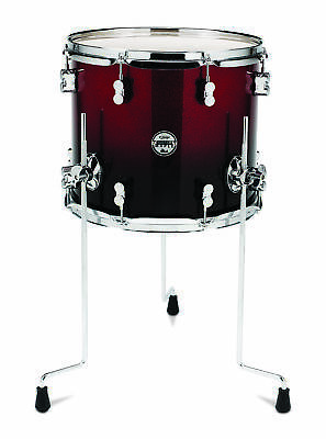 PDP Concept Maple : Red To Black Fade - Chrome Hardware 12X14