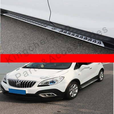 2Pcs fit for Nissan X-Trail Rogue 2014-2018 side step running board nerf bar