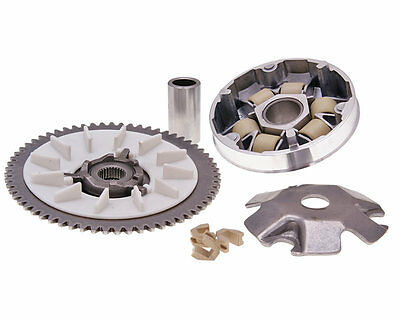 Sym Symply 50cc  Complete Variator Kit Pulley Rollers