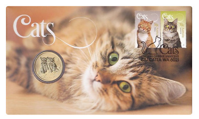 2015 PNC: CATS WITH 30.6mm $1 GEM BU COIN - LIMITED EDITION